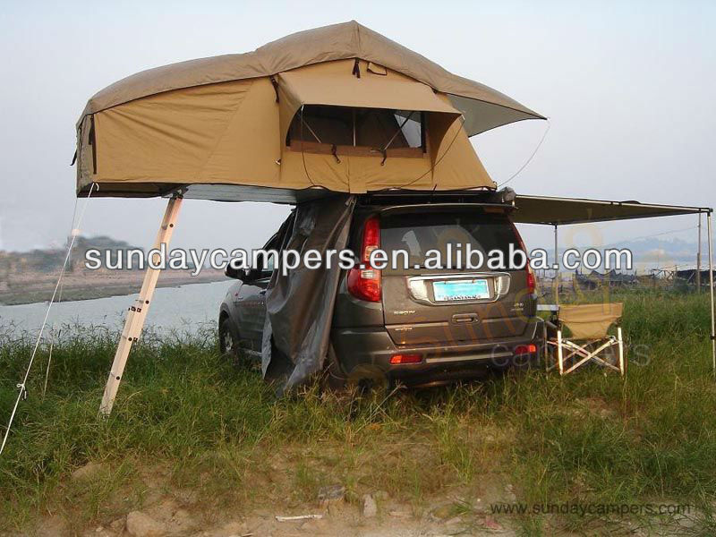 car top zelte autodach camper 4x4 4wd mit seitlichen. Black Bedroom Furniture Sets. Home Design Ideas