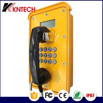 Emergency SoS Telephone KNSP-16 explosion proof phone Security Analog phone with best LED screen