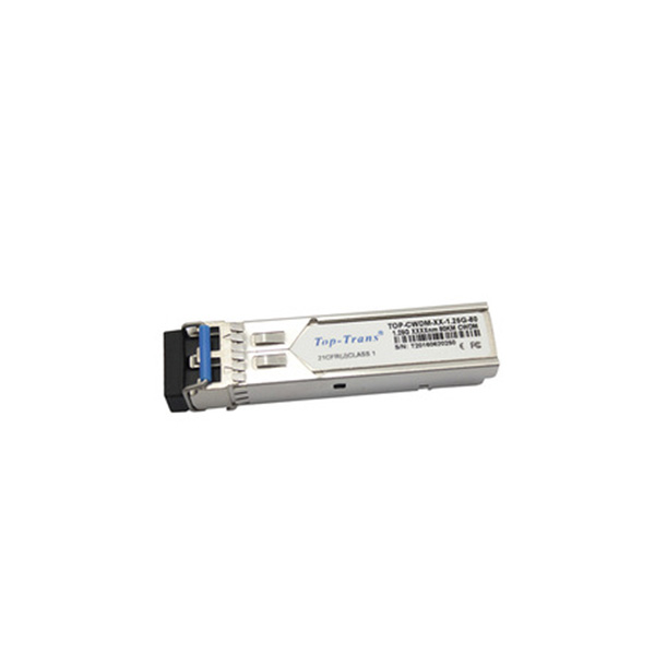 SFP 1.25 גרם CWDM 1570NM 80 km SM 1000BASE-ZX כפולה סיבי LC משדר מודול