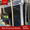 High quality polished St.Laurent Black Marble