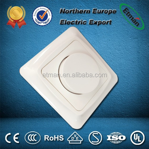 European Wide dimmable Range Dimmer Switch Dimmer Switch 220V LED Dimmer Switch