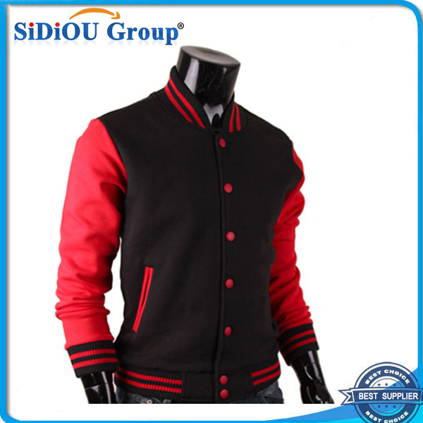Black Red Satin Varsity Baseball Jackets - Buy Varsity Baseball ...
