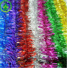 Xibao brand wholesale decorate top selling products 2017 beautiful plastic Christmas tinsel