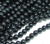 imitation pearl bead in bulk,black glass pearl