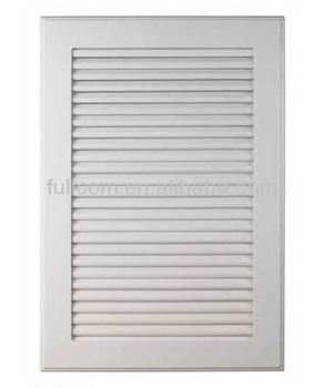 Beau Kitchen Cabinet Shutters , Cabinet Vented Door , Louvered Door