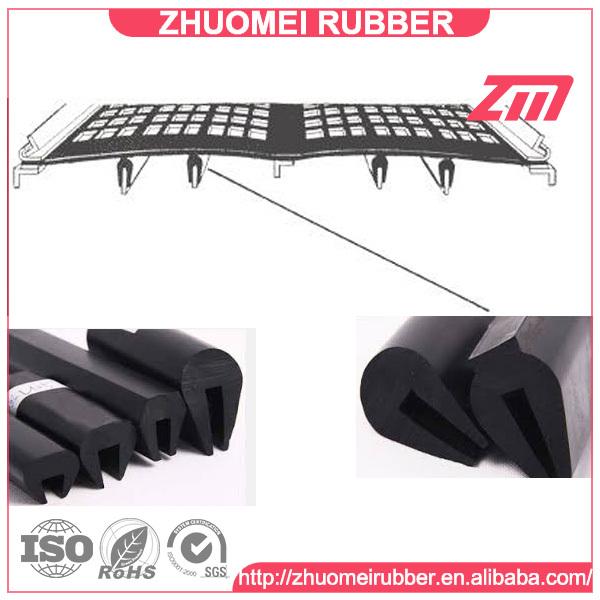 Edge Protect Rubber U Shape Glass Gasket Seal 1.5-2mm
