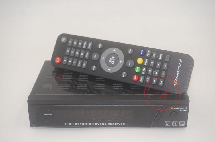 Remote Control For Az America S1001 Satellite Receiver