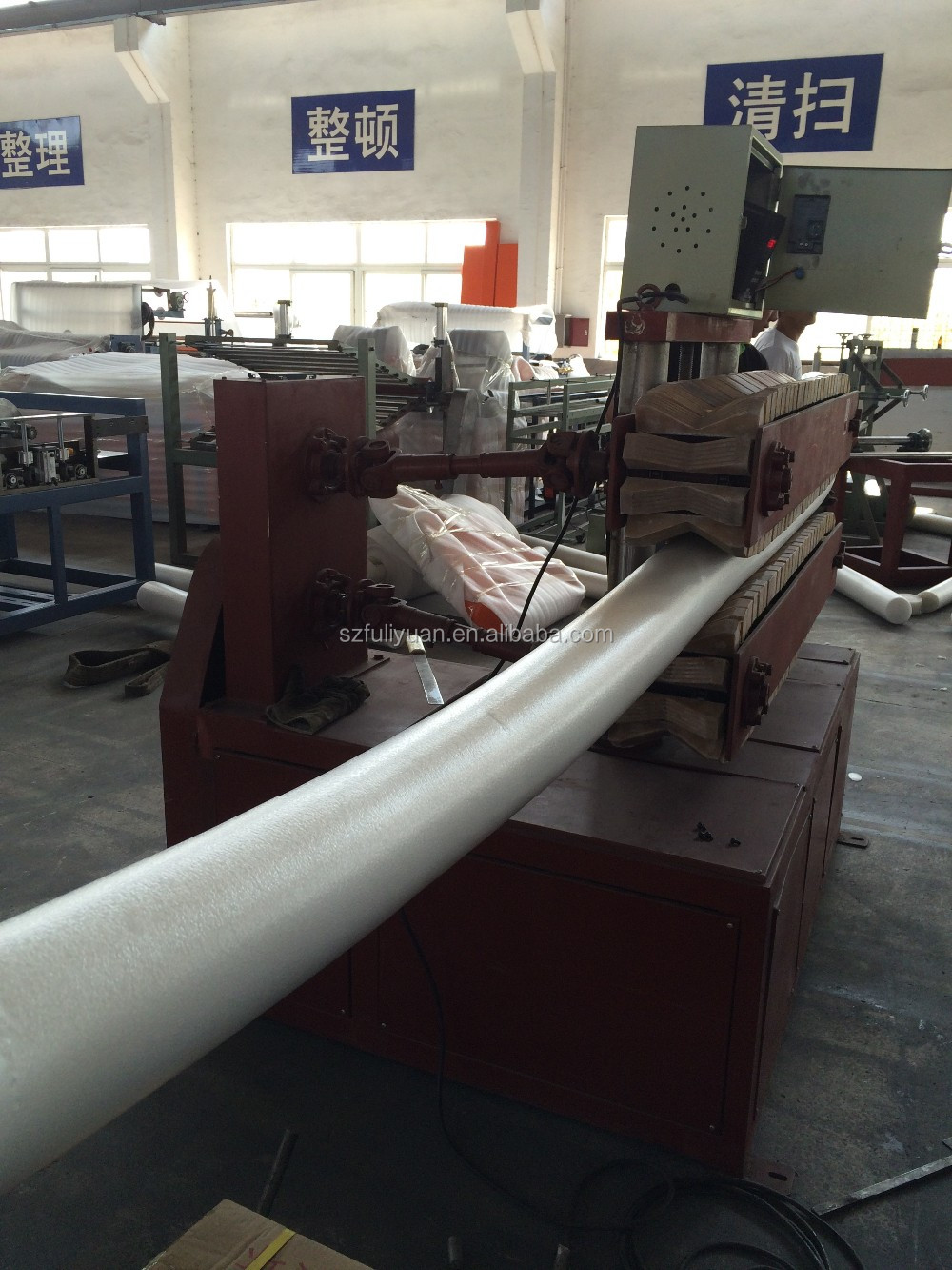 High Quality Poly Pipe Making Machine PE Foam Sheet Extrusion Line