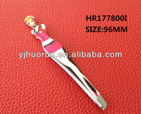 stainless steel tweezers eyebrow tweezers