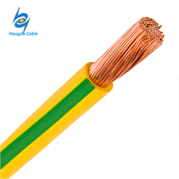 Green Yellow Grounding Wire 120mm Pvc Insulated Earthing Copper ...