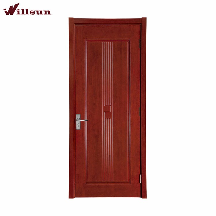 Front door house solid wood internal doors interior wood for Entry door manufacturers