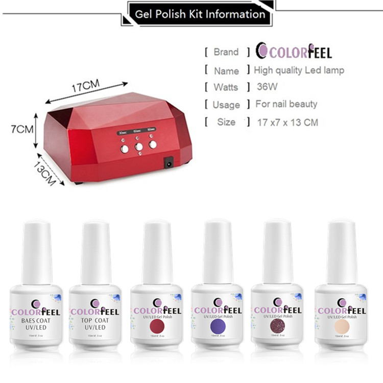 15ml gel polish manufacturer price wholesale nail art gel nail kit
