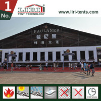 huge high quality AC German Aluminum Hangar marquee tents from China
