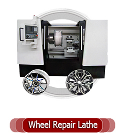 wheel-rim-repair lathe