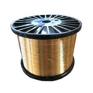 0.25mm brass plated steel wire rope copper coated