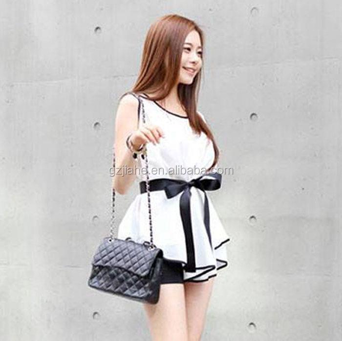 cd37cedc5bd 2016 новых летних повседневные топы без рукавов женщин белые рубашки  элегантные шифоновые блузки с поясом