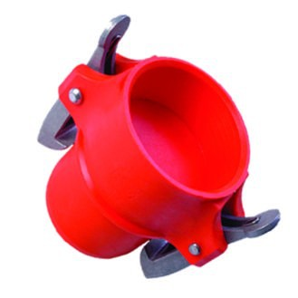 Male End Cap For Sprinkler Irrigation Pipe (Latch)
