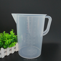 Priced direct selling plastic cup round cup 5000 ml diy baking tools Increasing scale plastic cups wholesale