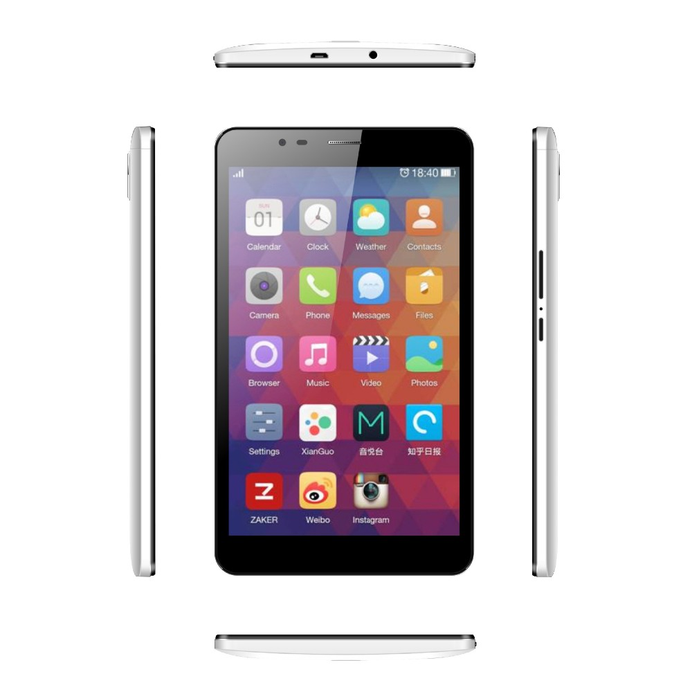7 inch telefoontje Tablet PC MT6753 Ram 2 GB Rom 16 GB Octa-Core High-speed processor android OS