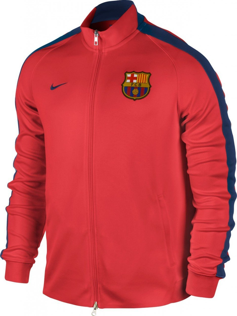 sale retailer 28533 17b0a Nike FC Barcelona N98 Authentic Jacket, Crimson Loyal