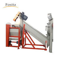 Fosita supply high efficiency Environmental protection recycling machines waste plastic