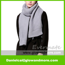 Hot selling Newest design fashion OEM warmer knitting scarf