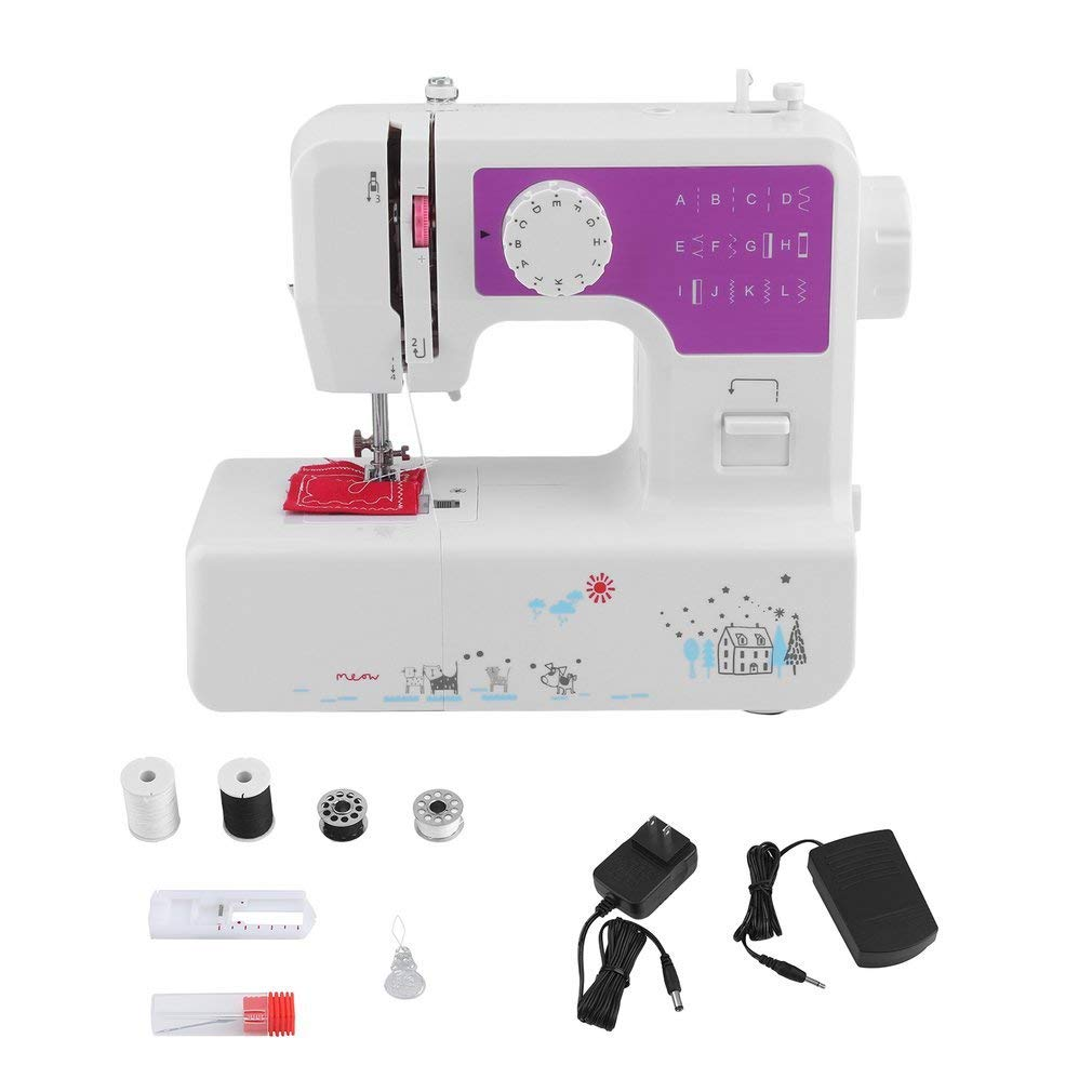 Sunbeam SB1818 Easy-to-Use Everyday Compact Sewing Machine Over 100 Piece Of All