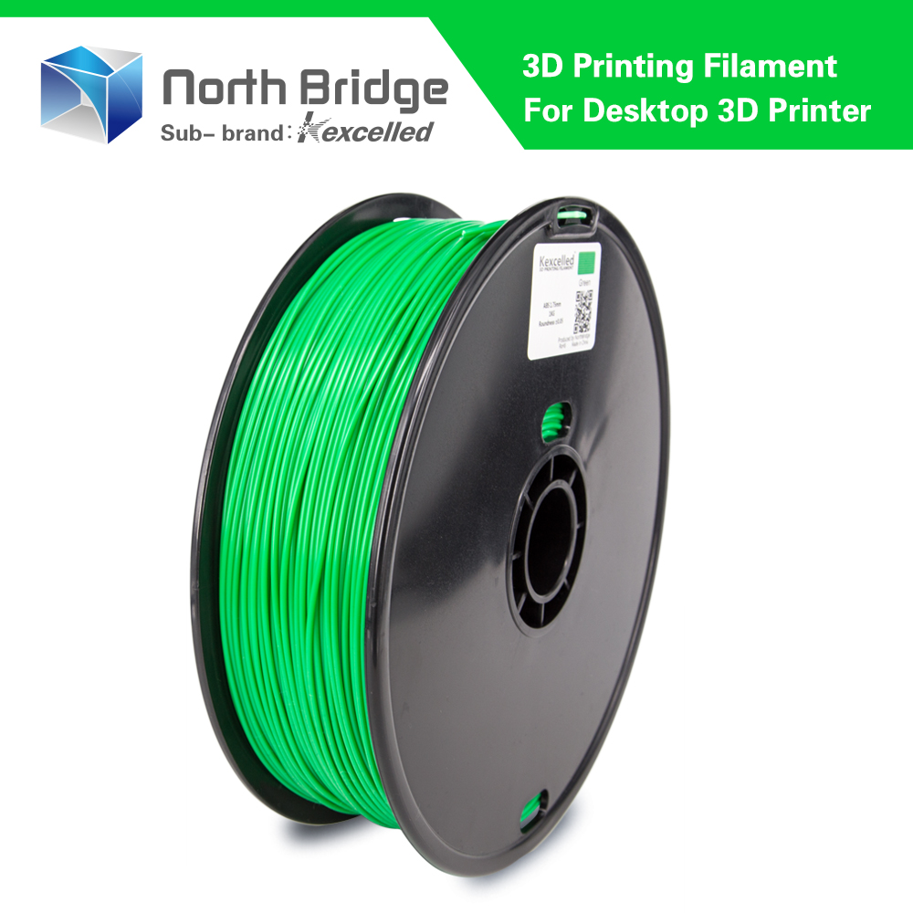 Kexcelled biodegradable straight 1.75mm abs filament high quality
