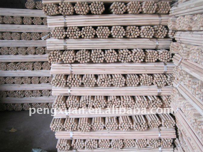 factory direct sale 110*152cm garden ucalyptus wood poplar logs for mop