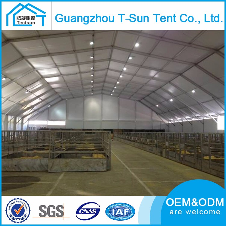 Custom High Interior Space Large Indoor Sport Event Tents 500 Seater Tennis Permanent Tent