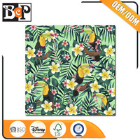 Custom service promotional designs scrapbook paper crafts with BSCI