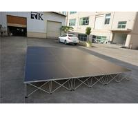 Cheap concert stage portable round circle stage platform used portable stage for sale