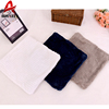 Wave pattern flannel fleece fancy wholesale luxury plain cushion cover
