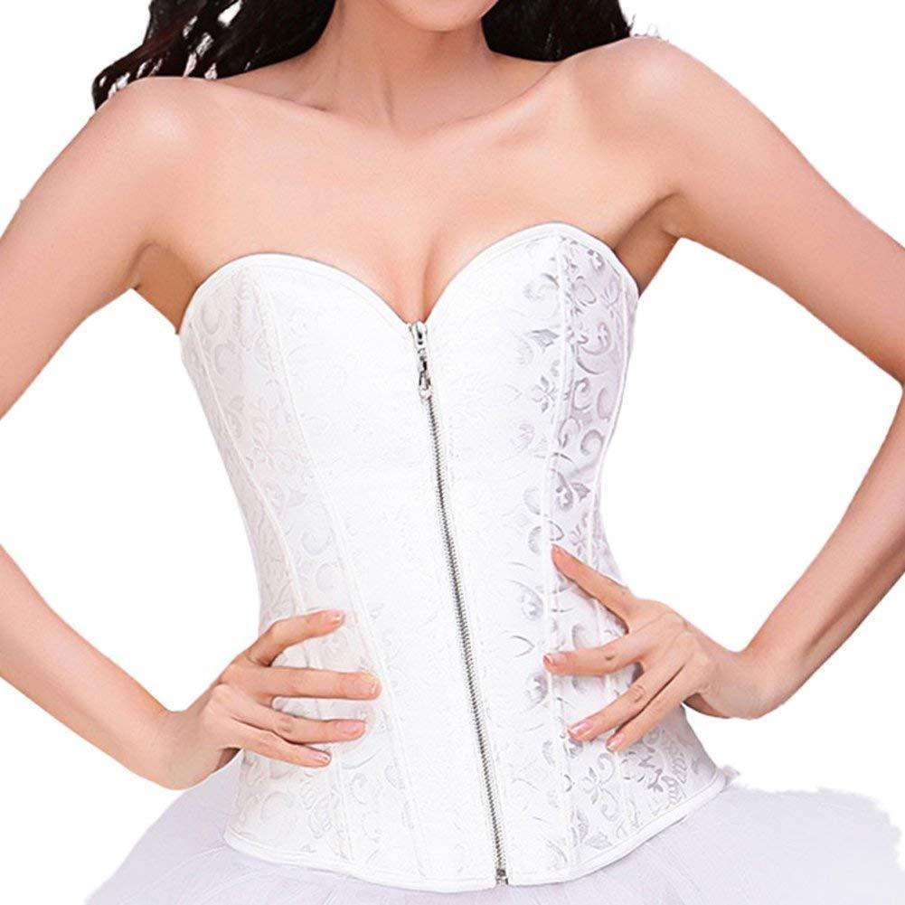 6b8bc580840 Get Quotations · Ya Lida Corset bridal lingerie shapewear abdomen care  thoracolumbar folder