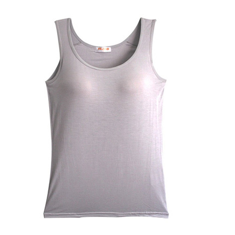 aa87eaafd7f9d Buy BIFINI Womens Sleeveless Yoga Sports Shelf Bra Camisole Tank ...