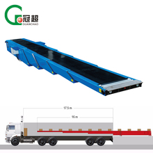 Automatic 16 meter telescopic conveyor for loading and unloading 20ft/40ft container