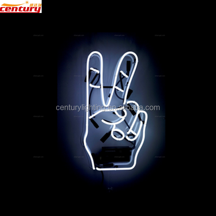 wholesale china factory price hand cheap neon sign