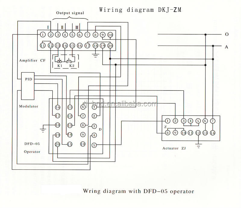 bernard actuator wiring diagram