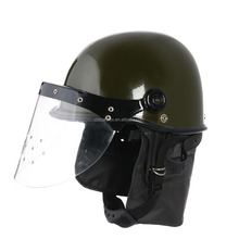 military riot control helmet for police