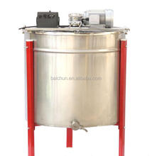 beekeeping honey extractor 6 frames electric self-reversal honey bee extractor machine with speed control motor