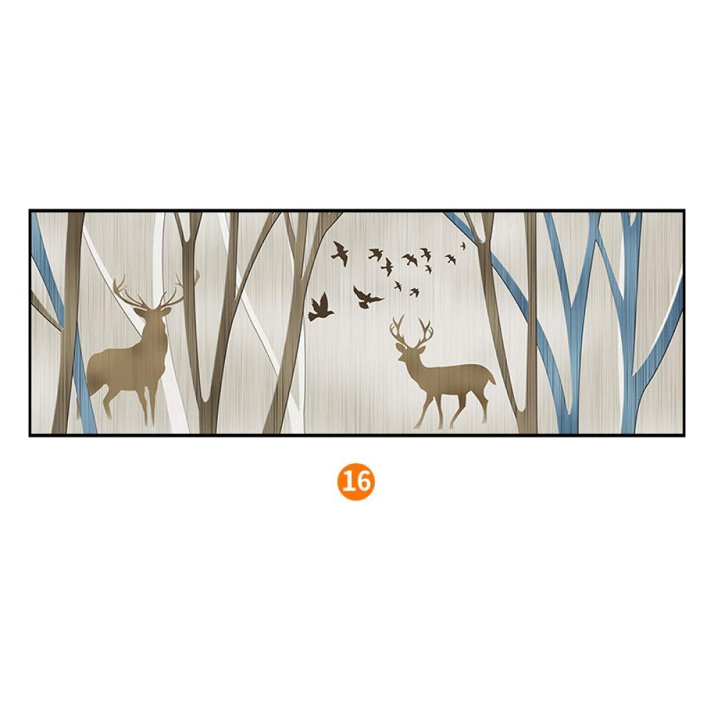 DEED Stylish elk Bedroom Bedside Painting, Modern Minimalist Framed Nordic Decorative Painting, Framed Wall Paintings