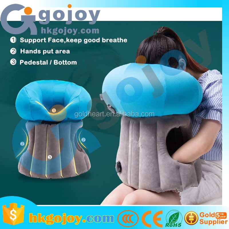 2017 Trending Products Inflatable Neck Travel Pillow,Travel Camping Self Inflatable Air Pillow For Airplane