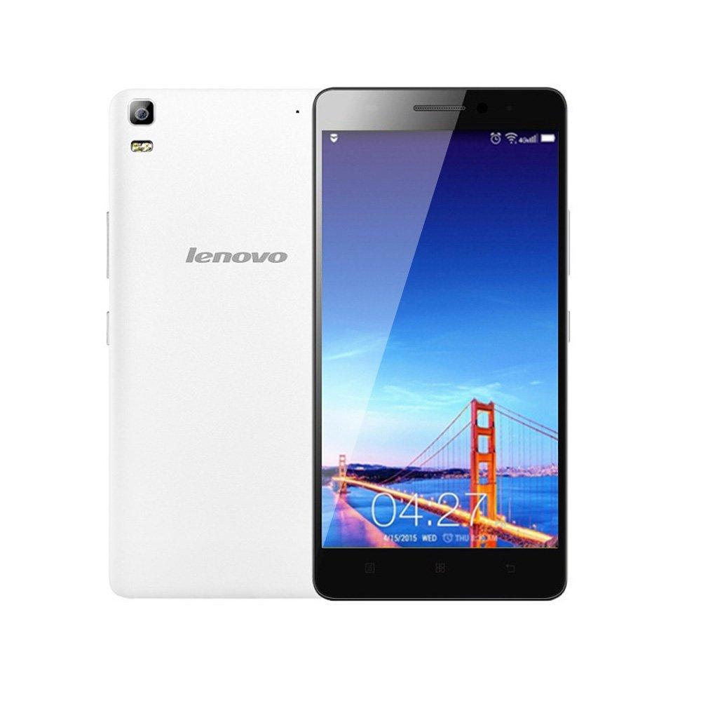 "Lenovo K3 Note K50-t5 Mobile Cellphone 4G LTE Android 5.0 Lollipop MT6752 64-bit Octa Core Dual SIM 5.5"" FHD 2G RAM 13MP Dual Camera (White)"