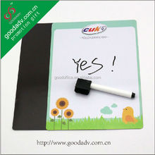 Guangzhou OEM factory hot sale Promotion Gift Erasable Magnet Whiteboard