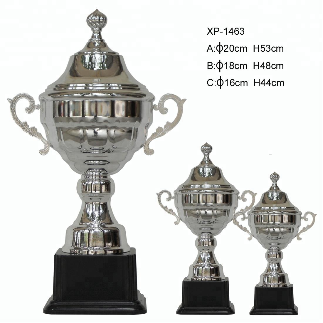 Popular new trophy from factory good shield award trophy grammy award trophy sell on alibaba