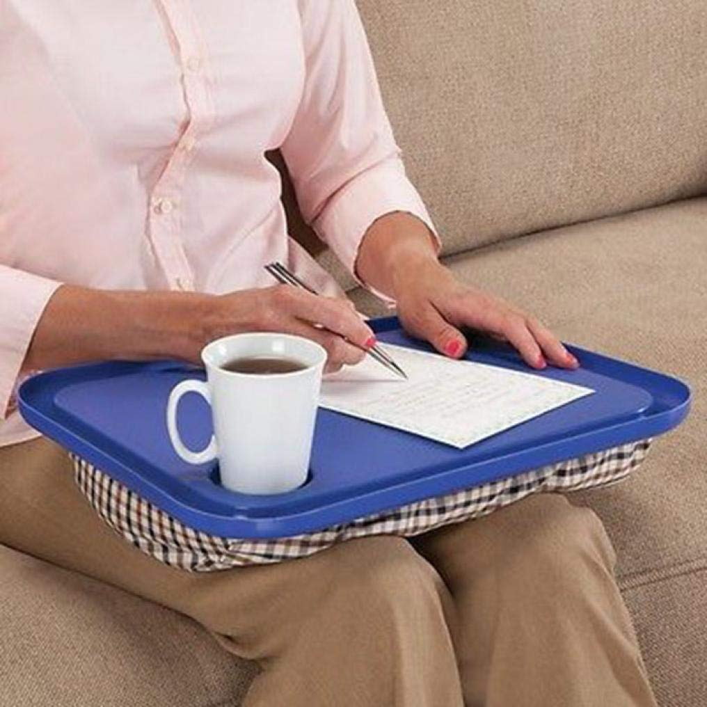 Kanzd Lap Desk For Laptop Chair Student Studying Homework Writing Portable Dinner Tray