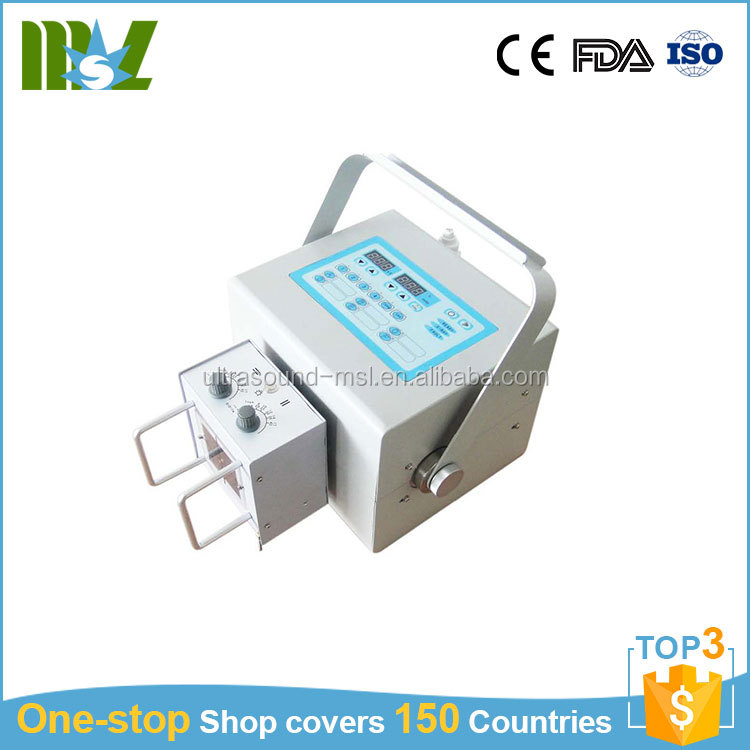 Factory price medical digital high frequency 4kw mini portable x ray machine