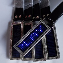 2018 NEW LED Message Belt Buckle shenzhen supplier