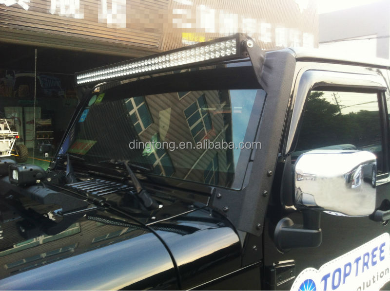 Jeep wrangler 50 curved led light bar roof mount led light bar jeep wrangler 50 curved led light bar roof mount led light bar truck aloadofball Images
