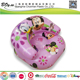 Factory wholesale customized design air arm chair pvc children pink girl inflatable princess sofa